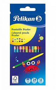 crayon de couleur bicolore TOP 8 image 0 produit