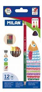 crayon de couleur bicolore TOP 9 image 0 produit
