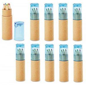 crayon de couleur bleu TOP 11 image 0 produit