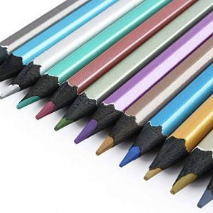 crayon de couleur métallique TOP 4 image 0 produit