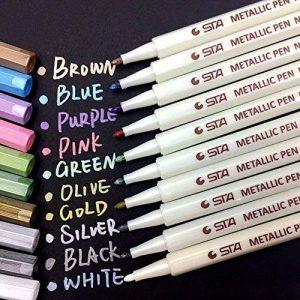 crayon de couleur métallique TOP 7 image 0 produit