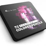 crayon de couleur métallique TOP 8 image 4 produit