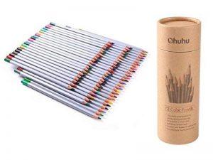 [Crayon de couleur] Ohuhu® 72-Couleurs Coloré Crayons Professionnel de Haute Qualité Art Dessin Crayons / Crayons de couleur pour Jardin secret Artiste Sketch, Ensemble de 72 couleurs de la marque Ohuhu image 0 produit