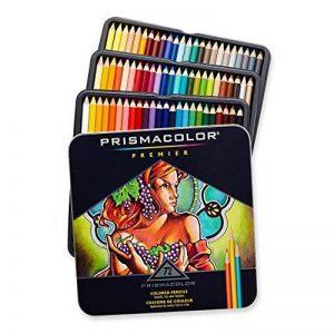 Crayon de couleur Prismacolor Premier Set 72/Tin-W/deux de la marque Sanford image 0 produit