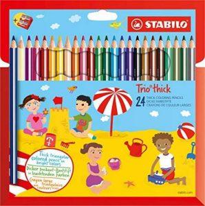 crayon de couleur triangulaire TOP 8 image 0 produit