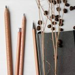 Crayon mécanique Woclhj Bois de Cèdre triangulaire 0,5mm HB crayon automatique pour projets artistiques Outline esquisse de la marque WOCLHJ image 3 produit