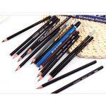 crayons aquarellables 12 Crayons,Letone Graphite aquarelle Crayons à l'aquarelle Dessin Crayons pour école Personnelle (10B) de la marque Letone image 3 produit