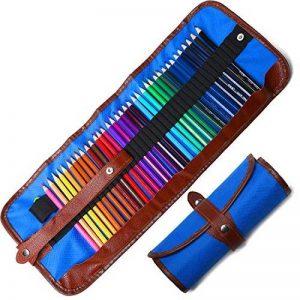 Crayons de Couleur Coloriage 36 Pcs Crayon en Bois d'Artiste Dessin avec Trousse de la marque COVACURE image 0 produit