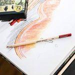 Crayons de Couleur de Colore - Ensemble de 72 crayons de couleur taillés Premium pour faire des coloriages - Très bien pour les fournitures scolaires, les enfants et les adultes et pour le coloriage - 72 couleurs vives de la marque Colore image 3 produit