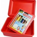 Crayons de couleur, de l'eau couleur & cire fois Craie avec boîte de rangement–Stabilo Woody 3en 1Box–Lot de 6avec taille-crayon et boîte–6couleurs de la marque STABILO image 1 produit