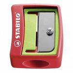 Crayons de couleur, de l'eau couleur & cire fois Craie avec boîte de rangement–Stabilo Woody 3en 1Box–Lot de 6avec taille-crayon et boîte–6couleurs de la marque STABILO image 3 produit