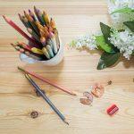 Crayons de couleur pour des livres de coloriage pour adulte. Incroyable Crayons de couleur pour adultes et enfants. Amerigo Lot de 36Couleurs + Taille-crayon gratuit. doux Cœur. Excellent également Crayons pour les enfants. de la marque Amerigo image 3 produit