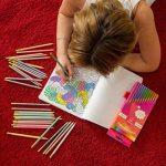 Crayons de couleur pour des livres de coloriage pour adulte. Incroyable Crayons de couleur pour adultes et enfants. Amerigo Lot de 36Couleurs + Taille-crayon gratuit. doux Cœur. Excellent également Crayons pour les enfants. de la marque Amerigo image 4 produit