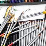 Crayons de couleurs Colore - 72 crayons de couleurs solubles dans l'eau pour étudiants et professionnels de l'art - Couleurs assorties avec le livre de coloriage et d'esquisse pour enfants et adultes - Stylo à brosse GRATUIT - ensemble de 72 couleurs de l image 3 produit
