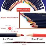 crayons de couleurs pastels aquarellables,54PCS Crayons de Dessin Crayons Croquis Art Set, materiel de dessin et personnalisé Grande trousse, Meilleur Cadeau pour les étudiants et artistes de la marque Zzone image 2 produit