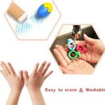 Crayons de doigt 2-en-1 pour les tout-petits, crayons de peinture pour les enfants, Crayons de bébé non-toxiques lavables et incassables, Crayons empilables de poignée de paume pour le jeu de groupe de la marque Mobee image 4 produit