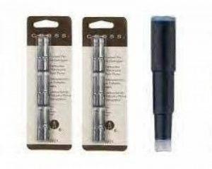 Cross Lot de 2 cartouches d'encre de stylo à plume Noir de la marque Cross image 0 produit