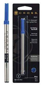 Cross Recharge pour Stylo-bille Encre Gel Pointe Moyenne Bleu de la marque Cross image 0 produit