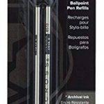 Cross recharge pour stylo à bille Lot de 2 Medium noir de la marque Cross image 2 produit
