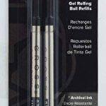 Cross recharge pour stylo à gel–Noir (Lot de 2) de la marque Cross image 2 produit
