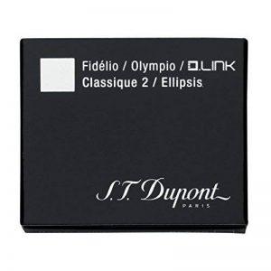 D-40112s.t dupont Stylo plume Cartouches d'encre Bleu/noir de la marque St. Dupont image 0 produit
