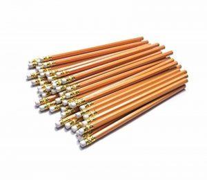 Dahomez 50pcs 2hb Crayon avec Eraser Woodcase Haut en caoutchouc Easy Sharpening Lead Pen de la marque Dahomez image 0 produit