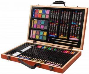 Darice 1103-08 Ensemble d'Artiste Professionnel Acrylique Multicolore 36,8 x 23,1 x 7,4 cm de la marque Darice image 0 produit