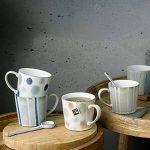 Denby Mug peinte à la main, en céramique, Bleu spot, 9.5x 9x 13cm de la marque Denby image 2 produit