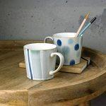 Denby Mug peinte à la main, en céramique, Bleu spot, 9.5x 9x 13cm de la marque Denby image 3 produit
