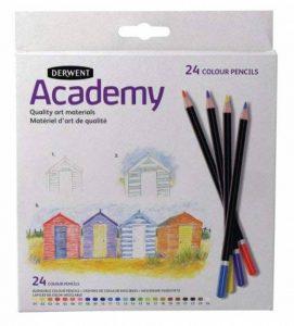 Derwent Academy Crayons de couleur Boîte de 24 de la marque DERWENT image 0 produit