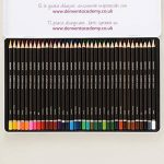 Derwent Academy Crayons de couleur Boîte métal de 36 de la marque DERWENT image 1 produit