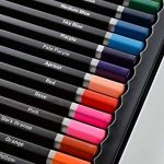 Derwent Colour Crayons de couleur Boîte en métal de 24 de la marque DERWENT image 3 produit