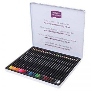 Derwent Crayons aquarellables Boîte métal de 24 de la marque DERWENT image 0 produit