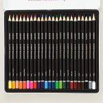 Derwent Crayons aquarellables Boîte métal de 24 de la marque DERWENT image 1 produit
