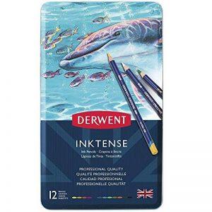 Derwent Crayons de Couleur Multicolore (Boîte de 12) de la marque DERWENT image 0 produit