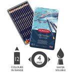 Derwent Crayons de Couleur Multicolore (Boîte de 12) de la marque DERWENT image 1 produit