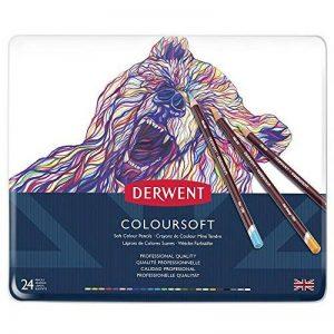 Derwent Crayons de Couleur Multicolore (Boîte de 24) de la marque DERWENT image 0 produit