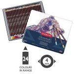 Derwent Crayons de Couleur Multicolore (Boîte de 24) de la marque DERWENT image 1 produit