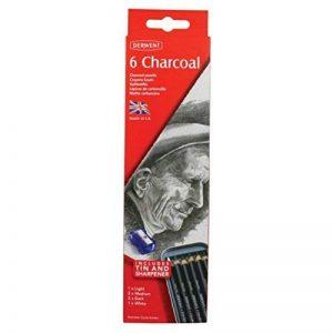 Derwent Crayons Fusain Boîte en Métal de 6 (Import Royaume Uni) de la marque DERWENT image 0 produit
