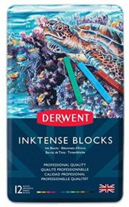 Derwent Inktense Bâtonnets d'Encre Boîte Métal de 12 (Import Royaume Uni) de la marque DERWENT image 0 produit
