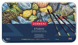 Derwent Studio Crayons de Couleur (Boîte de 72) de la marque DERWENT image 0 produit