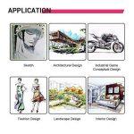 Dessin Marqueur Stylos Animation Sketch Marker Set Marqueur Double Astuce Pour Artist Manga Marqueurs Graphiques Brush (40 couleurs blanc corps) de la marque RONGXIANG image 5 produit