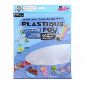 Diam's DI42262 - 7 Feuilles Poncées Plastique Fou Transparent 27,9 x 21,6 x 0,1 cm de la marque Diam's image 0 produit
