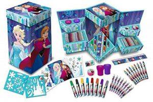 ❄ Disney Frozen Reine des Neiges type Cube malkoffer malset Ensemble de tampons ❄ de la marque Disney image 0 produit