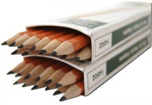 DIXON lot de 2 crayons hB dureté moyenne pour dessiner écrire peinture de 12 packs de 12 (144 crayons de papier holzbleistifte de la marque Dixon image 0 produit