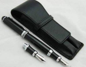 Duke Stylo-plume et stylo de calligraphie interchangeables-Étui en cuir pour stylo de la marque Lanxivi image 0 produit