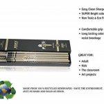 Eco Ever Crayon de journal -30 pièces (3 boîtes) 2B avec caoutchouc et gomme fabriqué à partir de 100% journal recyclé crayon pour l'écriture/dessin/design pour bureau/écoles de la marque ECO EVER image 4 produit