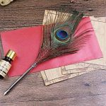 Ecvision Antique Plume stylo en métal nibbed écriture stylo de calligraphie avec Lot de plumes de la marque ECVISION image 1 produit