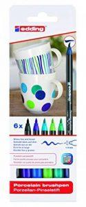 Edding 4-4200-6099 4200 Marqueurs pour porcelaine Épaisseur du trait 1-4 mm Couleurs assorties de la marque Edding image 0 produit