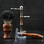 En Bois Rasoir De Sécurité Pinceau Rasage Badger Stylo Ensemble 3 Pièces Palissandre de la marque Haryali London image 1 produit